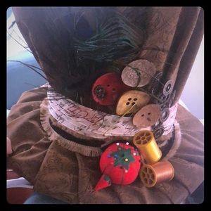 Handmade mad hatter hat